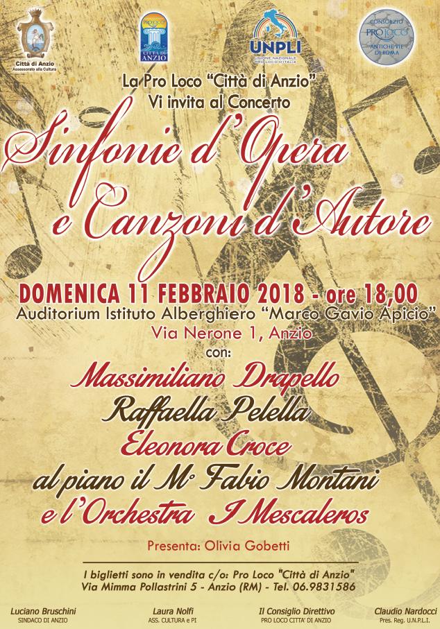 Locandina Sinfonie opera
