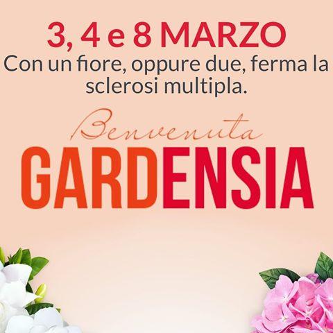 locandina gardenia di aism