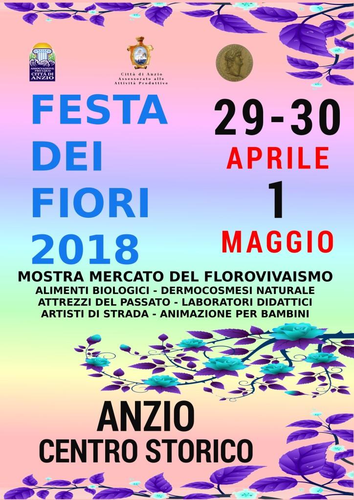 LOCANDINA festa dei fiori 2018