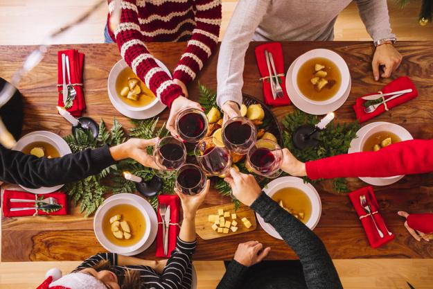 cena natale sociale