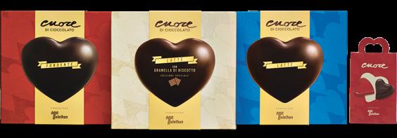 cuori di cioccolata